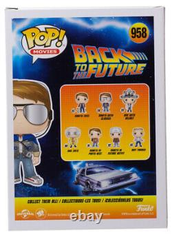Michael J. Fox Signed Back To The Future Marty Funko Pop #958 BAS