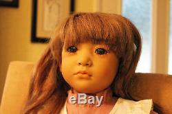 NEBLINA DOLL BY ANNETTE HIMSTEDT-SIGNED IN GOLD, With EXTRA OUTFIT