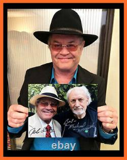 NEW! Dolenz Sings Nesmith DUAL SIGNED Vinyl LP + DUAL SIGNED 8x10! MONKEES
