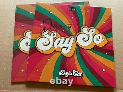 NEW SUPER RARE Doja Cat Say So Vinyl SIGNED