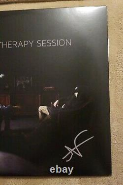 NF signed auto Therapy Session 2x Vinyl LP Nathan Feuerstein Nate LET YOU DOWN