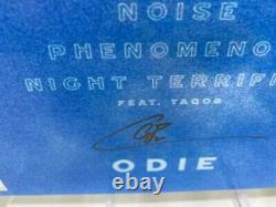 Odie Analogue Vinyl Limited Edition, Numbered, Clear, Autographed