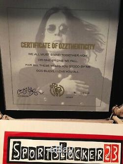 Ozzy See You On The Other Side Ltd. Edition Autographed & Numbered Vinyl Box Set