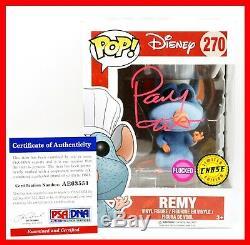 Patton Oswalt Remy Signed Autographed Flocked Ratatouille Chase Funko POP PSA