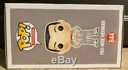 Pee-Wee Herman SIGNED AUTOGRAPHED at NYCC 2019 Paul Reubens Funko Pop #644