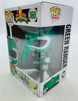 Power Rangers Green Ranger Funko POP Signed Jason David Frank