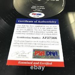 Quavo Huncho Migos signed Culture LP Vinyl PSA/DNA Album Autographed