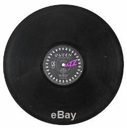 Queen Freddie Mercury Authentic Signed Jazz Album Cover With Vinyl BAS #A39150