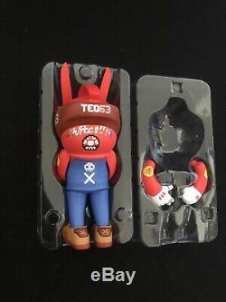 Quiccs Super TEQ Bros Mario & Luigi TEQ63 6 Vinyl Figure Martian Toy Signed Set