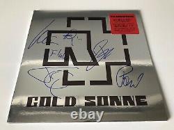 RAMMSTEIN Signed Autographed LP Vinyl 500 Copies Made! X6 Till Lindemann Kruspe