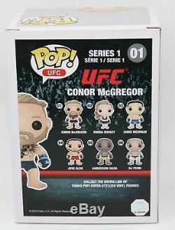 RARE CONOR McGREGOR Signed UFC MMA Figther Autographed Funko POP PSA JSA