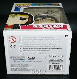 RARE Gal Gadot Signed Autographed Wonder Woman Funko POP JSA PSA Beckett