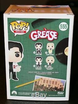 RARE John Travolta Signed Danny Zuko Grease Autograph Funko POP PSA JSA BAS
