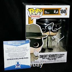 Rainn Wilson Signed Dwight Schrute The Office Funko POP 1045 Beckett PSA JSA