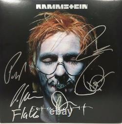 Rammstein Signed Autographed Sehnsucht Vinyl Album Till Lindemann Richard ++ Coa