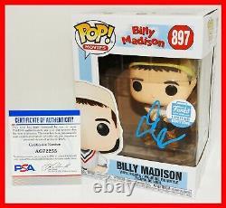 Rare Adam Sandler Signed Billy Madison Limited Edition Funko POP PSA JSA