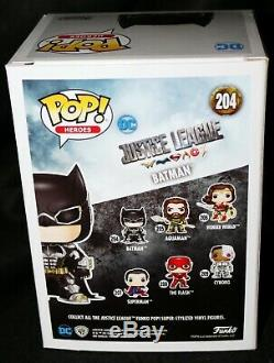 Rare Ben Affleck Signed Batman Justice League Funko POP JSA PSA BAS