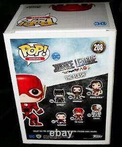 Rare Ezra Miller Signed The Flash Justice League Funko POP JSA Witness PSA