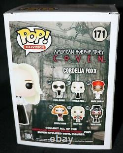 Rare Sarah Paulson Signed American Horror Story Cordelia Foxx Funko POP PSA