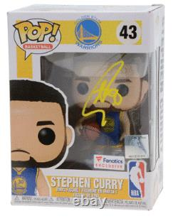 Rare Steph Curry Golden State Warriors Signed Funko Pop Ltd Edition Of 100