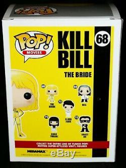 Rare Uma Thurman Signed The Bride Kill Bill Autograph Funko Pop Psa Jsa
