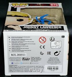 Rare William Zabka Signed Cobra Kai Karate Kid Johnny Lawrence Funko POP PSA