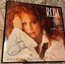 Reba McEntire Read My Mind New Vinyl Box Signed LP ALBUM Lithographs