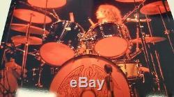 Roger Taylor Queen Signed Drum Head Drum Sticks Vinyl Box Set #009 Rare Mint New
