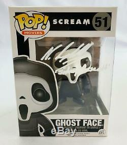 Scream Ghostface Funko POP Autographed by Neve Campbell