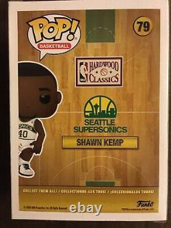 Shawn Kemp Autographed Funko Pop Seattle Sonics Signed Auto