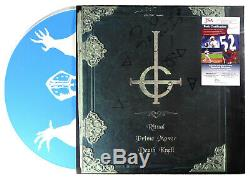 Signed Ghost Early Rituals Lp Blue Vinyl Papa Emeritus II Full Name Jsa Ff17720