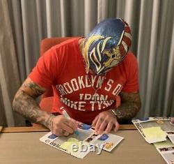 Signed Rey Mysterio Funko Pop JSA COA Seven Eleven exlusive autograph