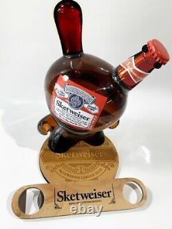 Signed! Sket One Sketweiser 8 Inch Dunny. Brand New, Sold Out, Very Rare