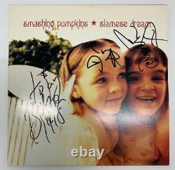 Smashing Pumpkins Siamese Dream Pink Marbled Gatefold Vinyl SIGNED