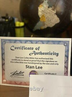 Stan Lee Funko Pop 03 Signed With COA