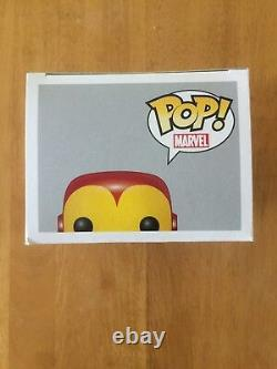 Stan Lee Signed Iron Man Funko Pop Beckett/Stan Lee COA