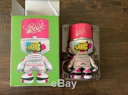 Superplastic Signed Hot Raspberry Sket One Grafitti Paint Kranky Toy Art