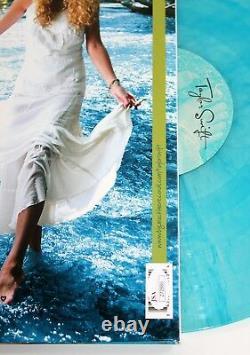 TAYLOR SWIFT SIGNED SELF-TITLED DEBUT ALBUM 2x LP COLOR VINYL RECORD +JSA LOA