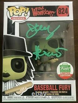 THE WARRIORS JERY HEWITT Green Furies Signed FUNKO POP Movies #824