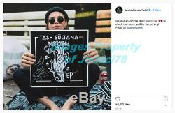 Tash Sultana Signed Autographed Notion Vinyl Album EP PROOF Flow State JSA COA