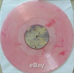 Taylor Swift 1989 (2-LP) Clear & Pink Vinyl Records Signed Autographed Album