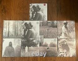 Taylor Swift Folklore Vinyl Set (All 9 Versions) + Signed CD