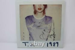 Taylor Swift Signed Autograph Album Vinyl Record 1989 Lover, Folklore, Red