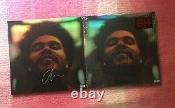 The Weeknd After Hours Double Vinyl LP Holographic Autographed Cover Limited