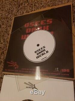 Thee Oh Sees Vinyl Record OSEES Lathe 7 Dark Weald (LIMITED to 100) Signed