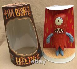 Tim Biskup SIGNED 8 & 4 Red Helper Set AUTOGRAPHED 2004 Critterbox SKETCH NEW