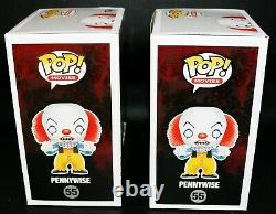 Tim Curry Signed Autographed IT Pennywise Black White RICC Limited Funko POP PSA