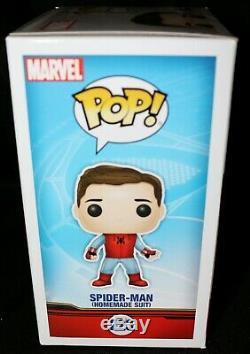 Tom Holland Signed Spiderman Homecoming Avengers Infinity War Funko POP PSA