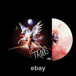 Trippie Redd TR666 Exclusive SIGNED Pegasus Red Marble Colored Vinyl LP RARE
