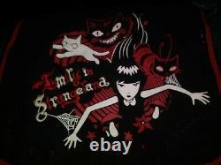 ULTRA RARE -2008 Emily The Strange E Vinyl Crossbody Messenger Black SIGNED